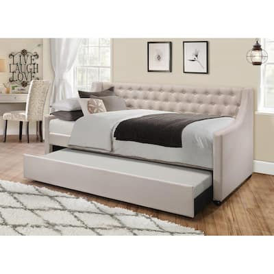 Vinnie Upholstered Daybed with Trundle