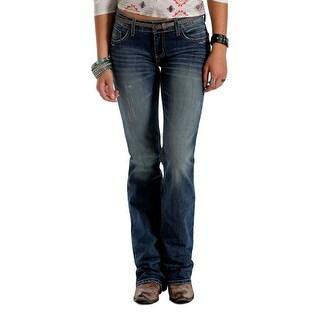 Cruel Girl Western Denim Jeans Womens Abby Slim 0 Long Med CB44354071