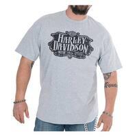 Harley-Davidson Men's Shake Down H-D Short Sleeve T-Shirt - Athletic Heather