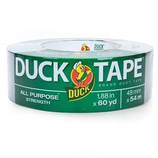 """Duck 394475 All-Purpose Strength Duct Tape, 1.88"""" x 60 Yard"""