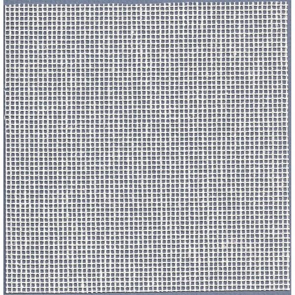"Needlepoint Interlock Canvas 36""X40""-14 Mesh White"