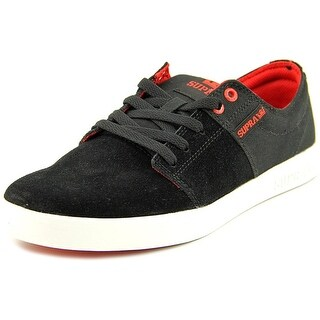 Supra Stacks II Round Toe Suede Skate Shoe