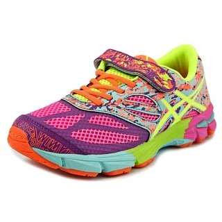 Asics Gel-Noosa Tri 10 GS Youth Round Toe Synthetic Multi Color Running Shoe