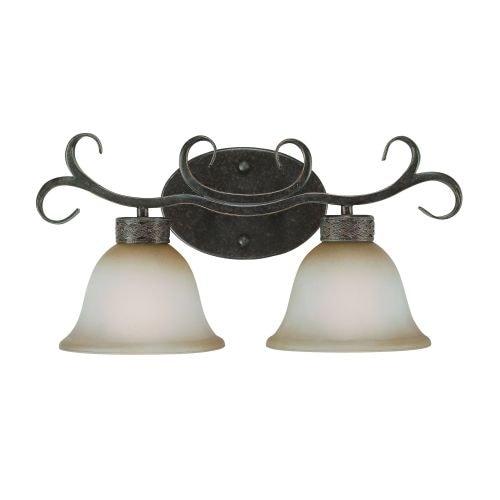 Jeremiah Lighting 23602 Brookshire Manor 2 Light Bathroom Vanity Light - 19 Inches Wide