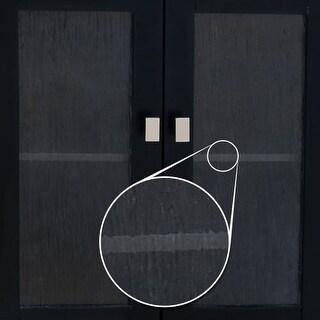 Elements VGLASS-03 Replacement Glass Door Panel for VAN063 Vanity Cabinet