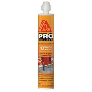 Sika 112718 Pro-Select AnchorFix-2 Anchoring Adhesive, 2-Component, 10.1 Oz