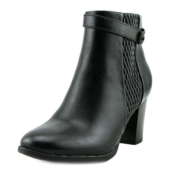 Patrizia By Spring Step Plosky Round Toe Synthetic Bootie