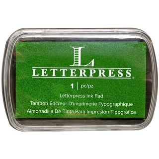 Letterpress Ink Pad-Green