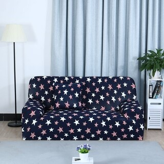 Unique Bargains Multicolor Stretch Spandex Sofa Slipcovers for 1/2/3 Seats (3 options available)