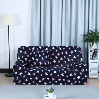 Unique Bargains Multicolor Stretch Spandex Sofa Slipcovers for 1/2/3 Seats