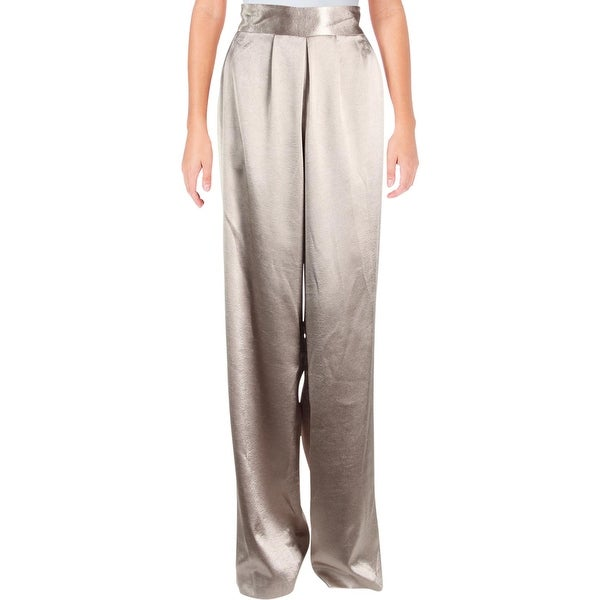 Shop Ramy Brook Womens Iris Dress Pants Satin Pleated Free Shipping On Orders Over 45 Overstock 23146458