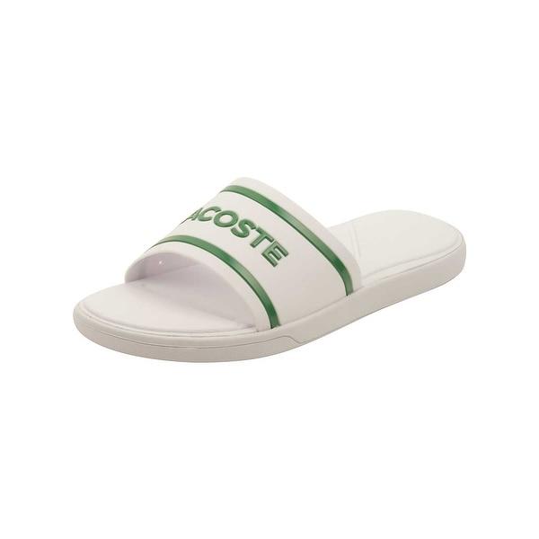 3e530d9162650 Shop Lacoste Women s L.30 Slide 218 1 Sandal - Free Shipping On ...