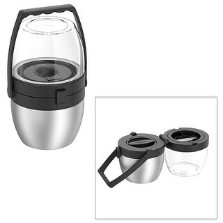 Thermos 16 oz dual compartment food w/ 20 oz top storage