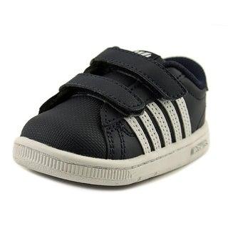 K-Swiss Hoke Strap Infant Round Toe Leather Blue Sneakers
