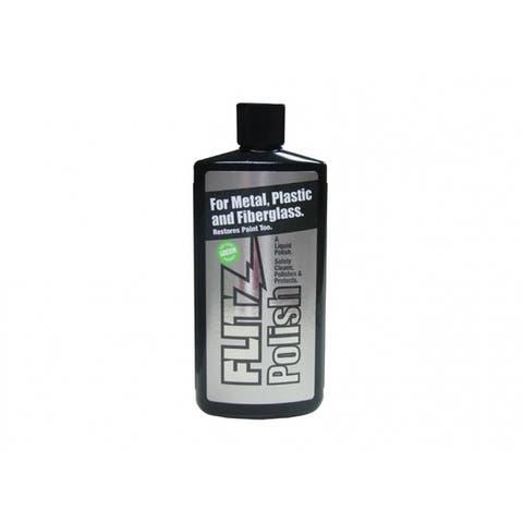 Flitz LQ04535 Liquid Metal Polish & Fiberglass Cleaner, 3.4 Oz