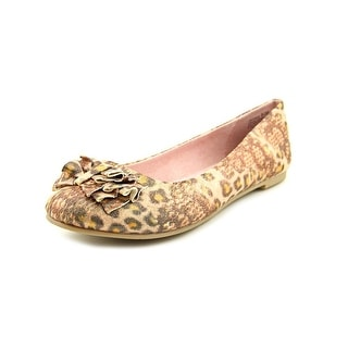 CL By Laundry Go Ahead Women Round Toe Canvas Ballet Flats