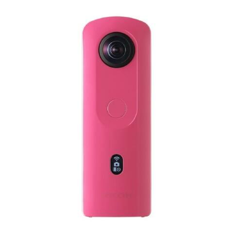 Ricoh Theta SC2 360-Degree 4K Spherical VR Camera (Pink)