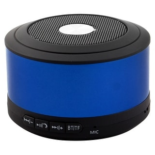 Portable Rechargeable Water Resistant 2.4G Wireless bluetooth Speaker Blue