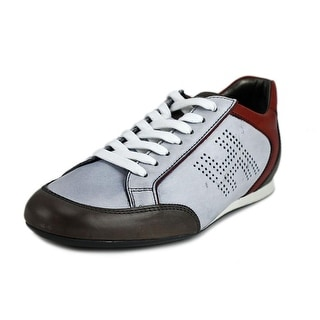 Hogan Olympia U Sportivo H Forato Men Round Toe Leather Multi Color Sneakers