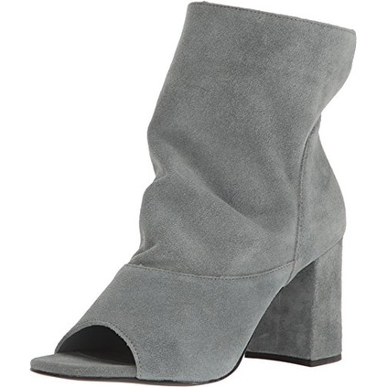 Matisse Womens Gordy Leather Open Toe Ankle Fashion Boots