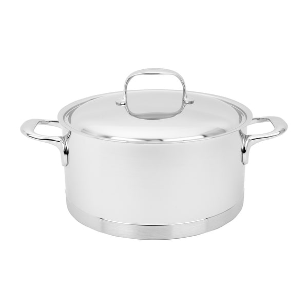 Demeyere Atlantis Stainless Steel Dutch Oven - Stainless Steel. Opens flyout.