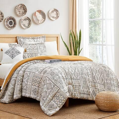 Modern Threads Tibet 8-Piece Printed Complete Bed Set