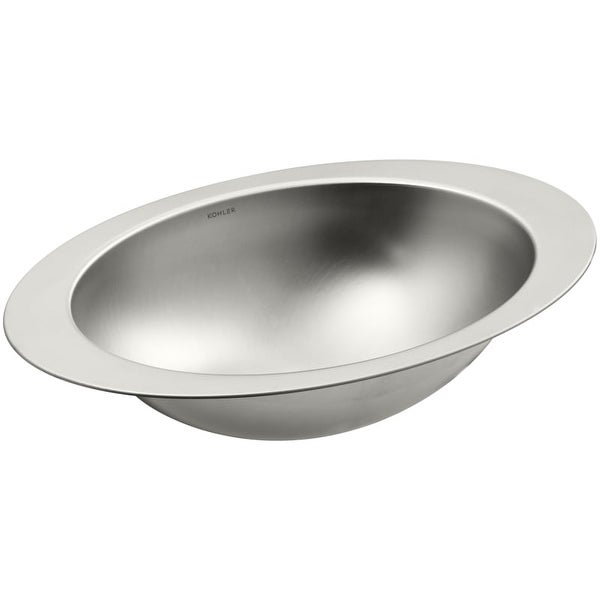 Kohler K 2602 Su Rhythm 18 Stainless Steel Undermount Bathroom Sink
