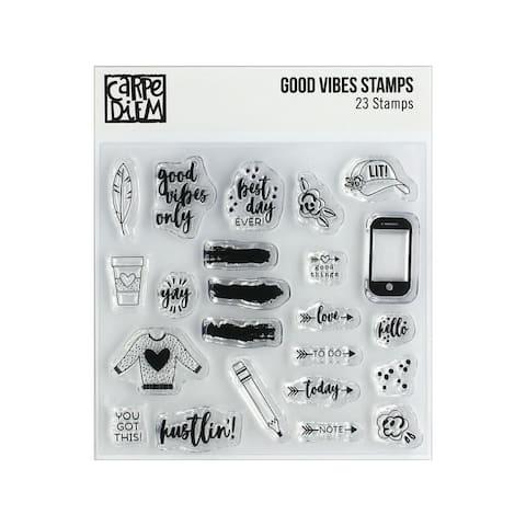 10431 simple stories carpe diem stamp good vibes