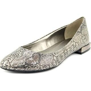 Tahari Ranma Round Toe Leather Flats