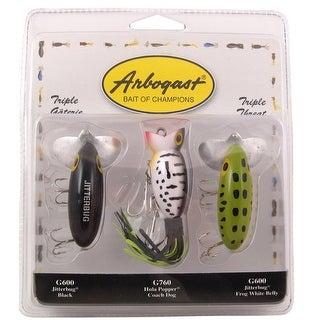Arbogast Triple Threat 3/8 oz Fishing Lures - multi-color