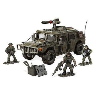 Mega Bloks Call of Duty Armored Vehicle Charge Building Set - Multi