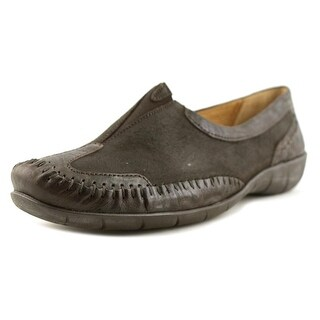 Gabor 72.513 W Round Toe Canvas Loafer