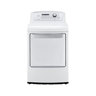 LG DLE4970 7.3 Cu. Ft. Front Load Dryer with Sensor Dry Technology