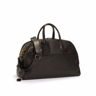 Polo Ralph Lauren Core Leather Sports Carryall Black Bag
