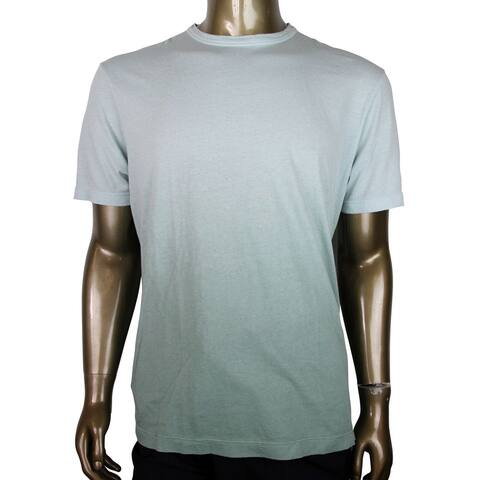 Gucci Men's Green Shaded Cotton Jerseyn T-Shirt With Hysteria Crest 369221 3972 (3XL) - 3XL