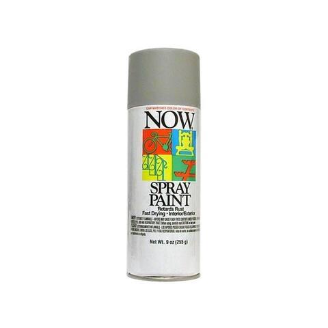 21-218 krylon now spray paint 9oz gray primer