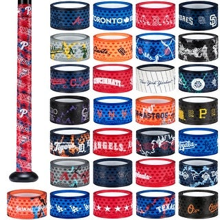 Lizard Skins 1.1mm MLB Lightweight Slip Resistant Durasoft Polymer Bat Grip Wrap (More options available)