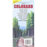 Universal Map 10748 Recreational Map of Colorado