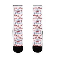 LookHUMAN Ragin' Reagan US Size 7-13 Socks
