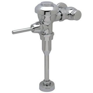 "Zurn Z6003PL-EWS  Aquaflush Plus 0.5 GPF Manual Urinal Flushometer for 3/4"" Top Spud with Sweat Solder Kit, Stop Cap and Cast"