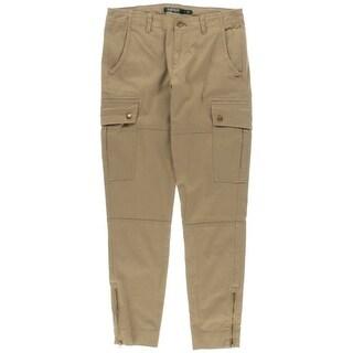 Lauren Ralph Lauren Womens Twill Skinny Fit Cargo Pants