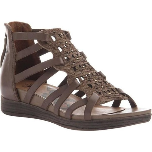 888452194 Shop OTBT Women s Bonitas Caged Sandal Otter Leather - Free Shipping Today  - Overstock.com - 18013510