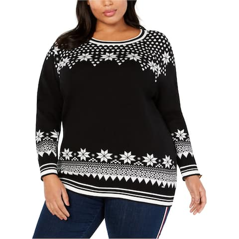 Tommy Hilfiger Womens Isle Ribbed Sweatshirt gray 3XL - XXX-Large