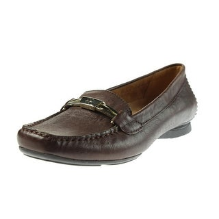 Naturalizer Womens Saturday Loafers Leather Embellished
