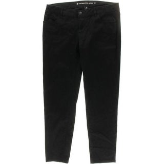 Celebrity Pink Womens Juniors Skinny Pants Low Rise Flat Front