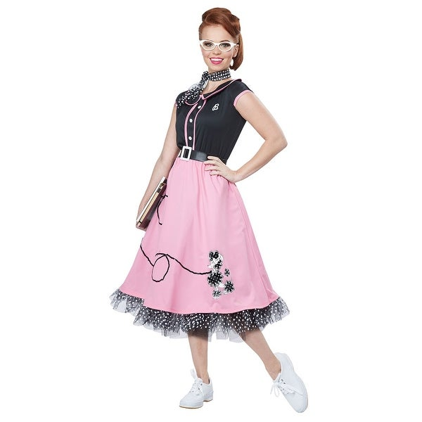womens 50s sweetheart halloween costume