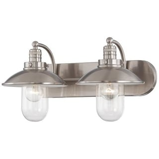 Minka Lavery 5132 2 Light Bathroom Vanity Light from the Downtown Edison Collection