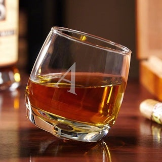 Link to Roly Poly Rocking Personalized Whiskey Glass Similar Items in Glasses & Barware