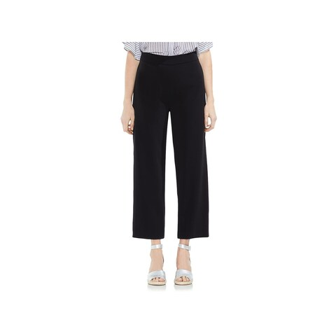Vince Camuto Womens Wide Leg Pants High Waist Cropped