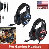ONIKUMA K1 Pro  Stereo Gaming Headset for PS4 NewXbox One PC with Mic